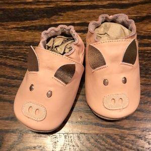 Adorable, never worn/NWOT Boden pig shoes